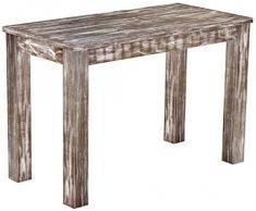 Brasil mobili tavolo da pranzo 'Rio classico' 115 x 56 cm, in legno massello di pino, tonalità in stile antico