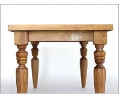 Langer Naturholzmöbel Tavolo da pranzo antico Angra tavolo di casa stile casa di campagna 180 x 90 cm