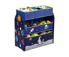 Delta Children Astronautas Organizzatore per Giocattoli Multi-Contenitori