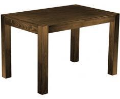 Brasil mobili sala da pranzo tavolo Rio, in legno di pino massiccio, oliata e cerata, L/B/H: 120 x 80 x 77 cm, colori diversi, diversi esigenti, Legno, Rovere antico, L/B/H: 120 x 80 x 77 cm