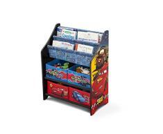 Delta Children Cars - Mobile per riporre libri e giocattoli