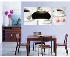 Piccolo soggiorno sezione progettista rotondo un'atmosfera moderna Nordic lampadari neri eleganti della sala da pranzo del ristorante luci semplice