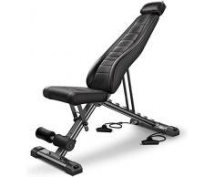 LAZ Panca Regolabile Multifunzionale sedie Fitness Cuscino Panca Romana Sedia Pieghevole Sit-up manubri banco Attrezzature Addominale