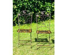 Sedie In Ferro Battuto Pieghevoli : Sedia da giardino in ferro battuto acquista sedie da sedia