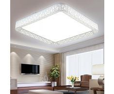 XMZ Soffitto moderni lampadari di luce Luce per soggiorno, sala da pranzo,corridoio,50*50*12cm