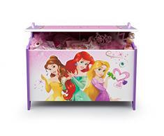 Delta Children, Scatolone in legno per i giochi, motivo: Principesse Disney