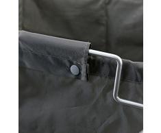 Z@SS Scomparto Di Stoccaggio-Materiale Nylon Rotolamento Telaio In Acciaio Pieghevole Cesto Servizio Lavanderia Cestino Carrello