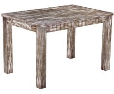 Brasil mobili tavolo da pranzo 'Rio classico' 120 x 80 cm, in legno massello di pino, tonalità in stile antico