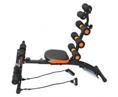 YELLOO Total Core Panca Trainer Multifunzione Fitness Addominali Gambe Braccia AB8550