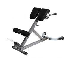 XRZY YXZQ Sedia Romana Regolabile, Panca per Esercizi muscolari Addominali, Attrezzatura da Palestra per Uso Domestico Multifunzione di Alta qualità