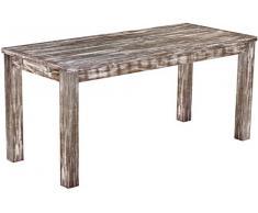 Brasil mobili tavolo da pranzo 'Rio classico' 170 x 73 cm, in legno massello di pino, tonalità in stile antico