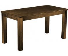 Brasil mobili tavolo da pranzo 'Rio classico' in molti colori e dimensioni, Pino, Rovere antico, L/B/H: 150 x 73 x 77 cm