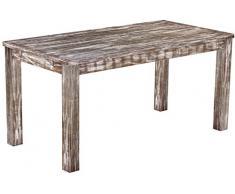 Brasil mobili tavolo da pranzo 'Rio classico' 160 x 80 cm, in legno massello di pino, tonalità in stile antico