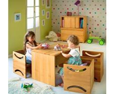 BioKinder 22827 Panchina per bambini Amelie 80x40. Ontano biologica