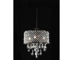MSAJ-Lampadario a bracci Tradizionale Classico Cristallo Cromo Metallo Lampadari Camera da letto Sala da pranzo Sala studio Ufficio Ingresso , 220-240v