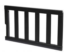 Delta Childrens Toddler Guardrail, Black, Black