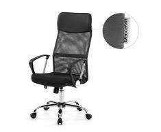 Sedie con schienale alto color nero da acquistare online su livingo