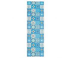 wunderlin Tappeto per corridoio, cucina, collezione lavabile, design moderno, adatto per tappeti, antiscivolo e passatoia da cucina, utile tappeto da cucina, lavabile (Big Tiles, 60 x 200)