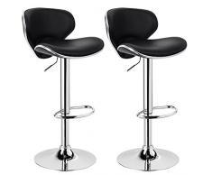 Woltu bh bd coppia sgabelli da bar estetica moderni sedia