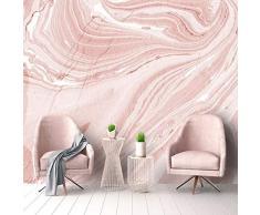 Carta da parati personalizzata murale moderna arte astratta rosa foto di pietra murale soggiorno sala da pranzo romantica decorazione domestica 3D