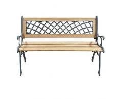 Papillon - 055.395, Panchina in legno e ferro ELDORADO, 126 X 52 X 73 cm