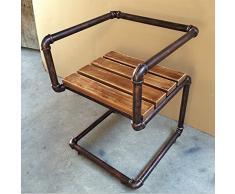 Sgabelli da bar in ferro battuto regolabile in ghisa ad altezza