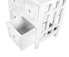 Mobiletto grigio in stile rustico per il bagno,cucina,corridoio e camera da letto