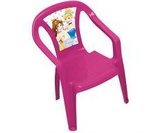 Arditex WD7970 – monoblocco sedia in plastica, design Disney Princess