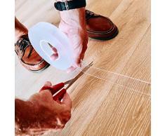 Nastro multifunzione Ivy Grip Nastro adesivo biadesivo magico riutilizzabile trasparente ad alto legame per attrezzatura da cucina per tappeti da cucina