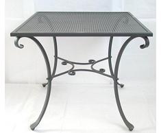 Tavolo in ferro battuto da giardino » acquista Tavoli in ferro ...
