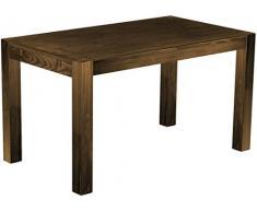 Brasil mobili sala da pranzo tavolo Rio, in legno di pino massiccio, oliata e cerata, L/B/H: 140 x 80 x 77 cm, smaltata, diversi esigenti, Legno, Rovere antico, L/B/H: 140 x 80 x 77 cm