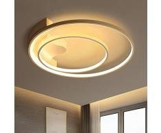 KBEST LED Soffitto Plafoniera 51Cm 52W Dimmerabile con Telecomando Soggiorno Ferro Lampadario Vivaio Lampada Sala da Pranzo Camera Letto Bagno