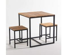 La Redoute Interieurs Tavolo da Bistrot 2 Coperti, Hiba Taglia 2 Persone Beige