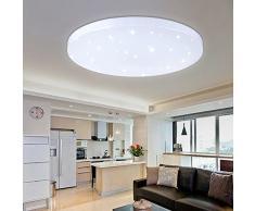 Plafoniere Ultra Sottile Salotto : Lampade da soffitto a led color bianco acquistare online su livingo