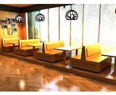 illuminazione Helen Ristorante Chandelier moderno semplice creativo Ristorante luci lampada principale del soffitto sala da pranzo lampada da letto Lampadari Bar industriale ( colore : Nero )