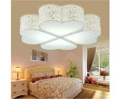 XMZ Soffitto moderni lampadari di luce Luce per soggiorno, sala da pranzo,Corridoio48*48cm- Luce bianca lampada a soffitto luci
