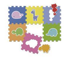 Chicco 7162 - Tappeto Puzzle Animali