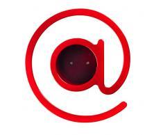 Outlook Design V9G0B00060 Taccapanni, Appendiabiti, Rosso