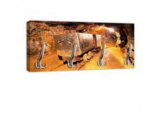 Appendiabiti con gancio attaccapanni appendiabiti da parete Design mina DG387