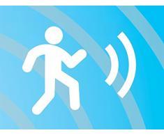 Smartwares Barra Luminosa LED per armadi 7000.021 Smartlight – Sensore di Movimento – Lunghezza Massima 70 cm – Alimentazione a Batteria