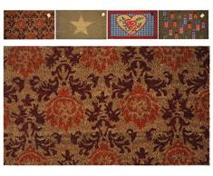 H&H Tappeto cocco pvc assortiti cm 40x70 Tessuti per pavimenti