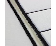 OUNONA Tappeti da cucina antisdrucciolevoli Corridoio Tappeto Rettangolare Zerbino Tappetino 40 x 60 cm e 40 x 120 cm (2 Pezzi) (Pianoforte)