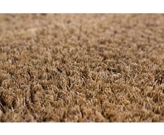 Andiamo 294521 – Zerbino in fibra di cocco Velour, 40 x 60 cm, colore: naturale