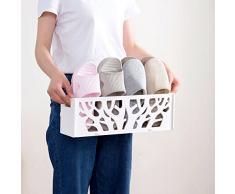Scaffale per scarpe NAN Portacappelli da bagno semplice da bagno 43 * 10 * 14 cm (Colore : 1, dimensioni : 43*10*14cm)