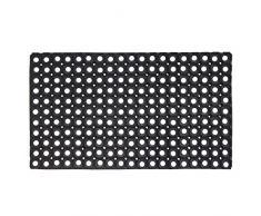JVL - Zerbino in gomma ultra-resistente da esterno, dimensioni: 50 x 100 cm 01-095