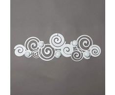 ARTI E MESTIERI Appendiabiti da Parete MOD. Orfeo Design Colore Bianco