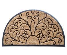 EHC resistente antiscivolo tappetino per ingresso, in gomma, 40 x 70 cm