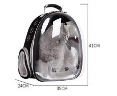 LXRZLS Borsa da Viaggio con portacappelli da Astronauta Pet Cat Dog -Space Capsule Backpack Traspirante - Adozione di Materiale Ecologico in PVC