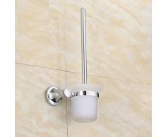 GY&H Portaspazzole WC Portacappelli in lega di zinco nuovo scopino Portaspazzolino per bagno ciondolo cromato