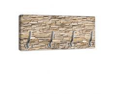 Appendiabiti con Design Asia Stone maniglia, attaccapanni appendiabiti da parete DG239